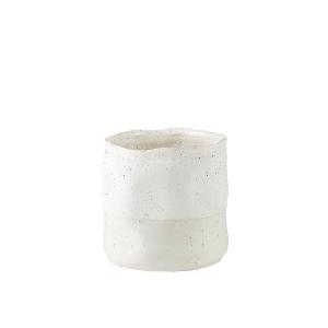 Potteskjuler hvit stor