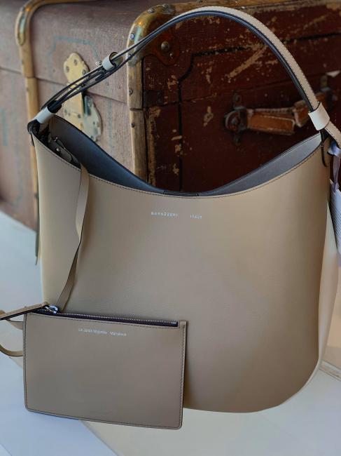 Hobo Bag Beige/Latte