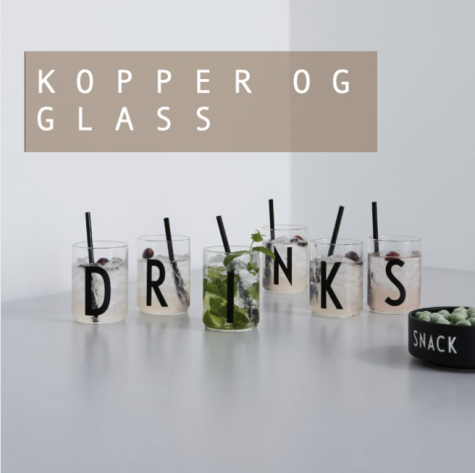 Kopper og glass