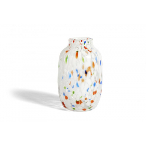 Splash Vase - White Dot