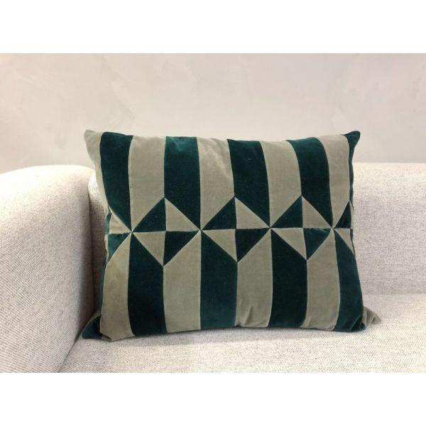 50x60 Olivia - Emerald/Artichoke