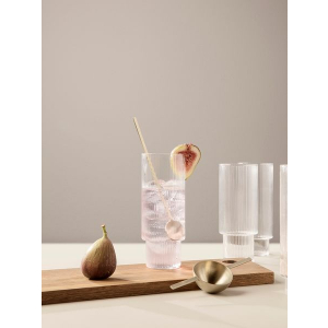 Ripple Long Drink Glass - 4pk