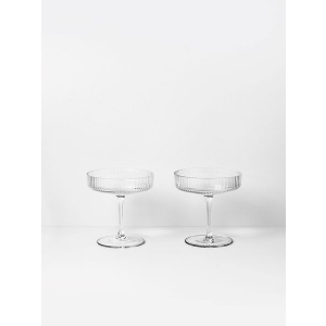 Ripple Champagneglass - 2pk