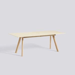 CPH 30 Table Extandable - Matt Lacquered Oak - L200