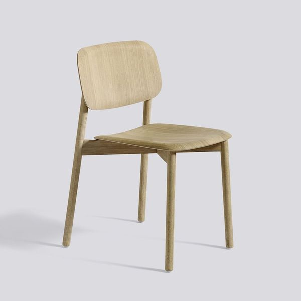 Soft Edge 12 Chair Matt lacquered oak