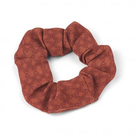 Hårstrik Scrunchie Elly rød