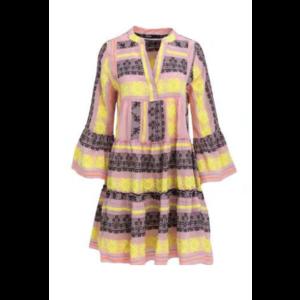 Devotion kjole - Pink/Black