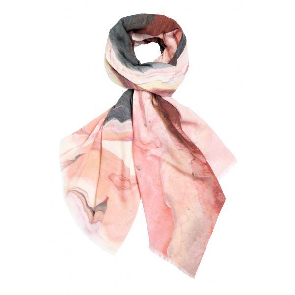 Marble Blush scarf