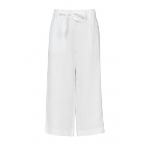 Leaf linen trousers