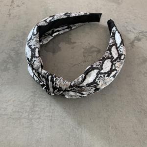 Hårbøyle Snake Print