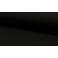 French terry svart  børstet bakside