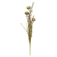Stilkblomst beige/grønn