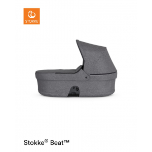 STOKKE® - BEAT™ CARRY COT BLACK MELANGE