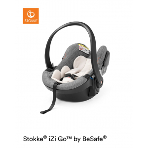 STOKKE® - iZi Go Modular™ X1 by BeSafe® BLACK MELANGE