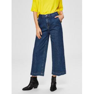 Gene Wide Crop Jeans