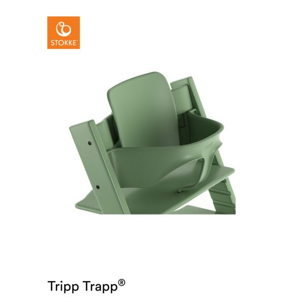 STOKKE® - TRIPP TRAPP® BABY SET MOSS GREEN
