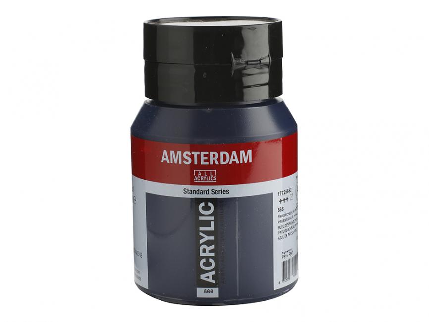 Amsterdam Standard 500ml – 566 Prussian Blue Phthalo