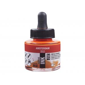 Amsterdam Ink 30ml – 257 Reflex Orange