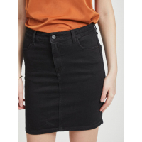 OBJWIN NEW BLACK DENIM SKIRT