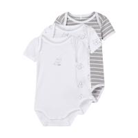 3-pk Body baby kort arm