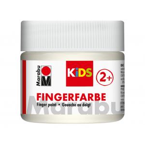 Marabu KIDS Finger Paint 100ml – 070 Hvit