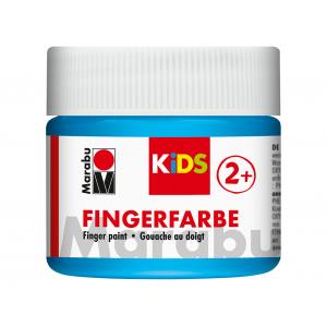 Marabu KIDS Finger Paint 100ml – 090 Lys Blå