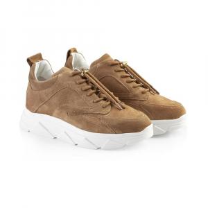 Portia Sneakers, Lys brun