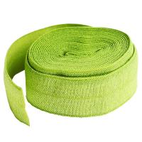 Fold over elastic lime grønn