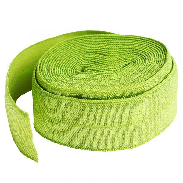 Fold over elastic lime grønn ( apple green)