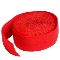 Fold over elastic rød