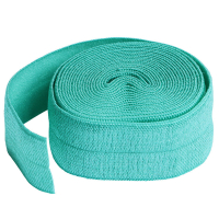 Fold over elastic turkis