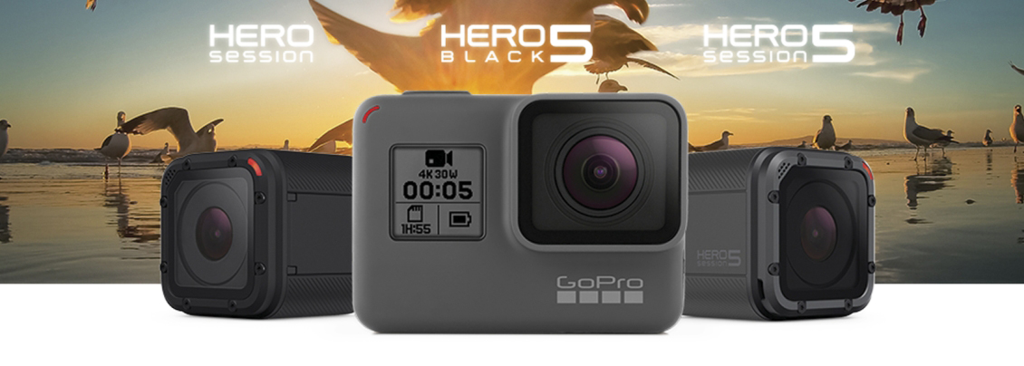 NYE GOPRO HERO5 BLACK & SESSION
