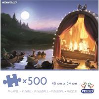 Puslespill, 500 brikker, Moominvalley Animation, Mummi