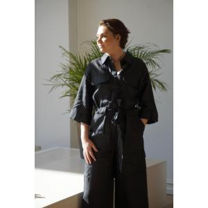 Macco Linen Jumpsuit