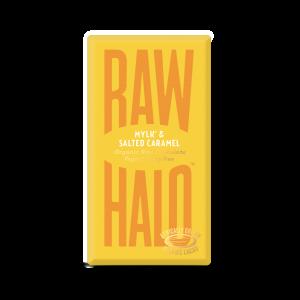 Raw Halo melkesjokolade, salt karamell