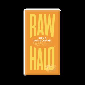 Raw Halo mørk sjokolade, salt karamell