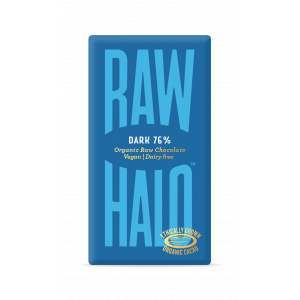 Raw Halo mørk sjokolade, 76% kakao