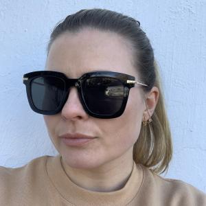 Lotus Gold Sunglasses