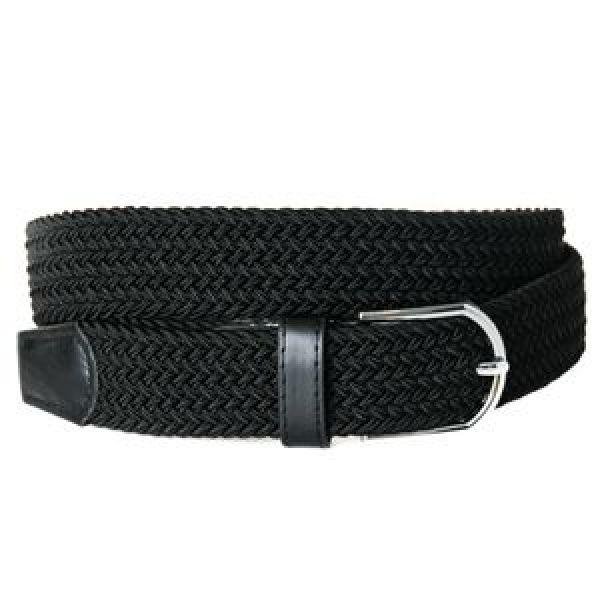 Rosenvinge Belt black strikk 594101