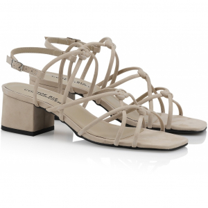 Tia Sandal Low Nude