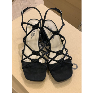 Tia Sandal Low Black