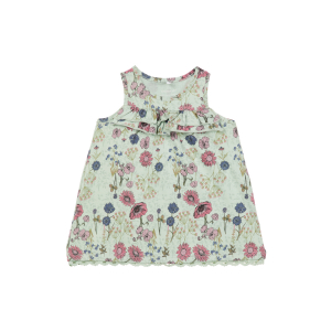 Otildine kjole uten ermer baby