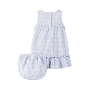 Fairy kjole uten ermer med bukse baby