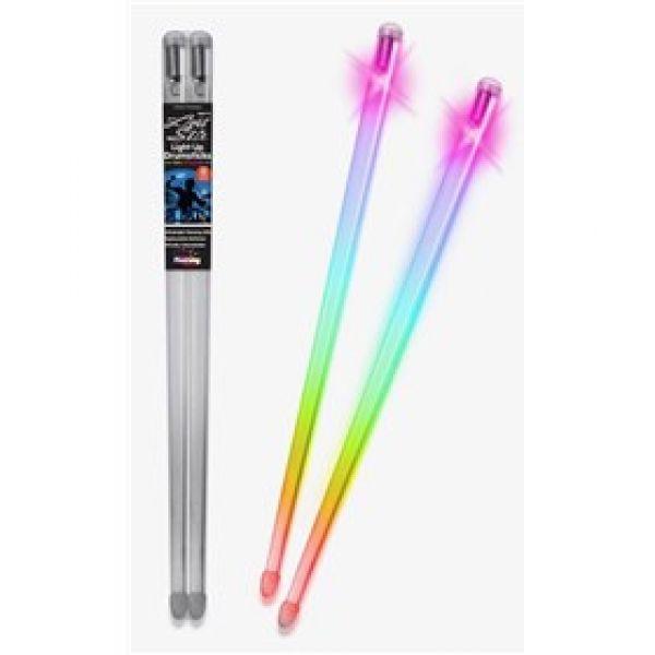 Trommestikker med LED lys