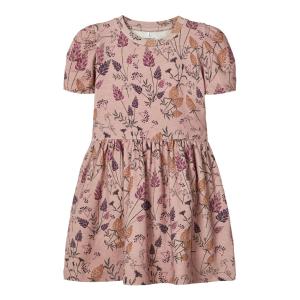 Hedy kortermet kjole mini blomstret