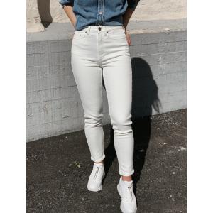 Astrid Mom Jeans White