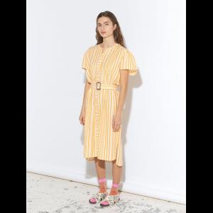 Striped Casey long dress