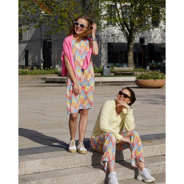 Dress Pastel ZigZag 2DG00338