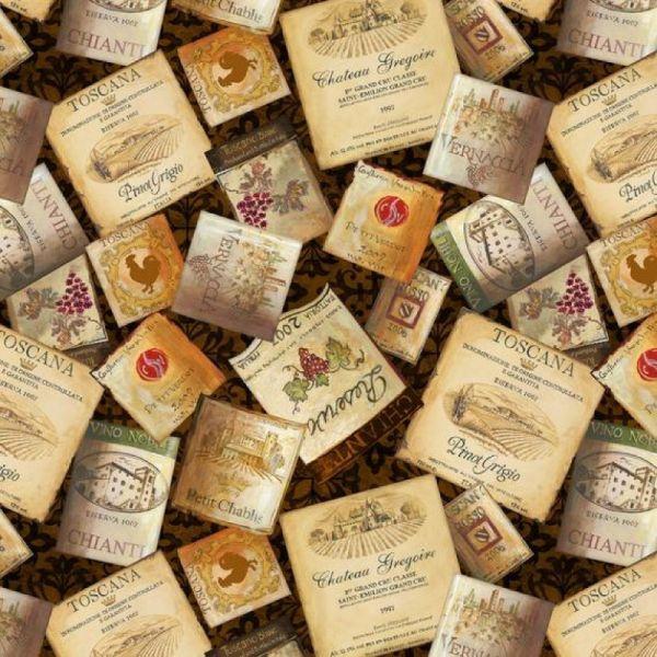 Tuscan delight vin etikett