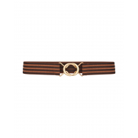 Cocouture Mocca Row Elastic Belt